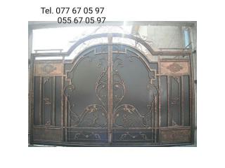 Դարվազա կալիտկա դուռ դռներ վառոտ դարբնոց դարբնի գործեր դարբնի աշխատանքներ ամուր darpas varot darvaza