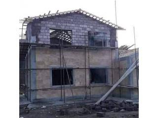 Հիմքից տանիք կապիտալ շինարարություն